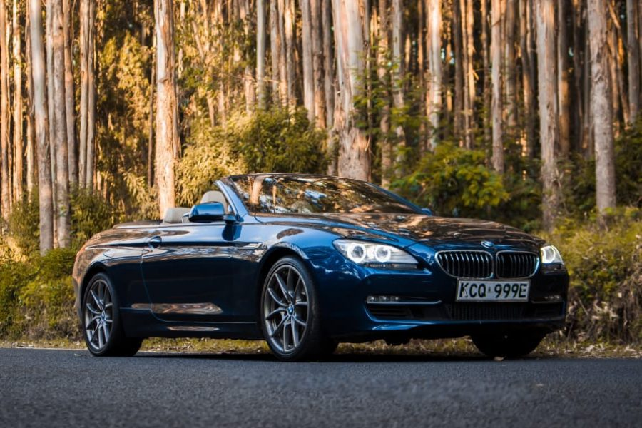Car Hire Bmw 6 Series Convertible Coupe Car Hire Car Rental Kenya